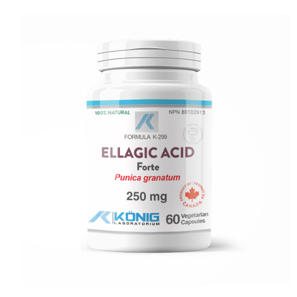 Acid Elagic din Rodie (Pomegranate Extract ) 250mg (60cps)