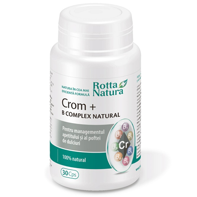Crom+B complex natural (30cps)