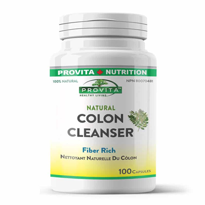 Curatitor Colon (Colon Cleanser) 100% Natural: 100 capsule