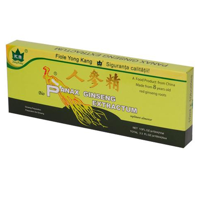 Extract Lichid Panax Ginseng (10 fiole)