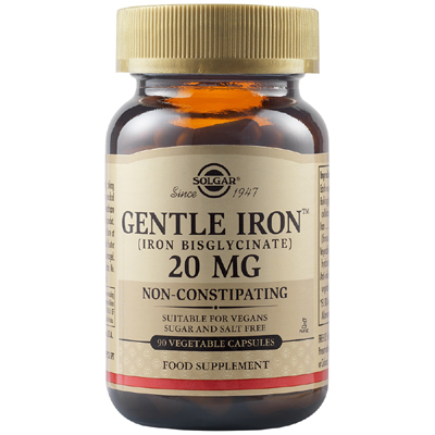 Gentile Iron 20mg (90cps)