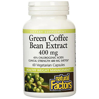 Green Coffee - Extract cafea verde (60cps)