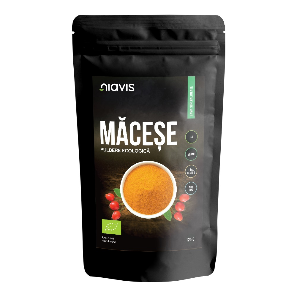 Macese pudra ecologica (125gr)