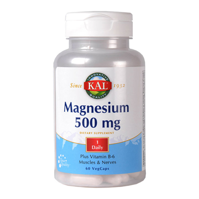 Magnesium 500mg (60cps)