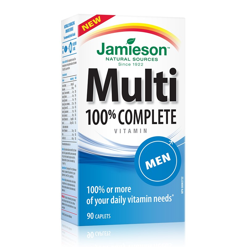Multi 100% Complete for MEN (90cps)