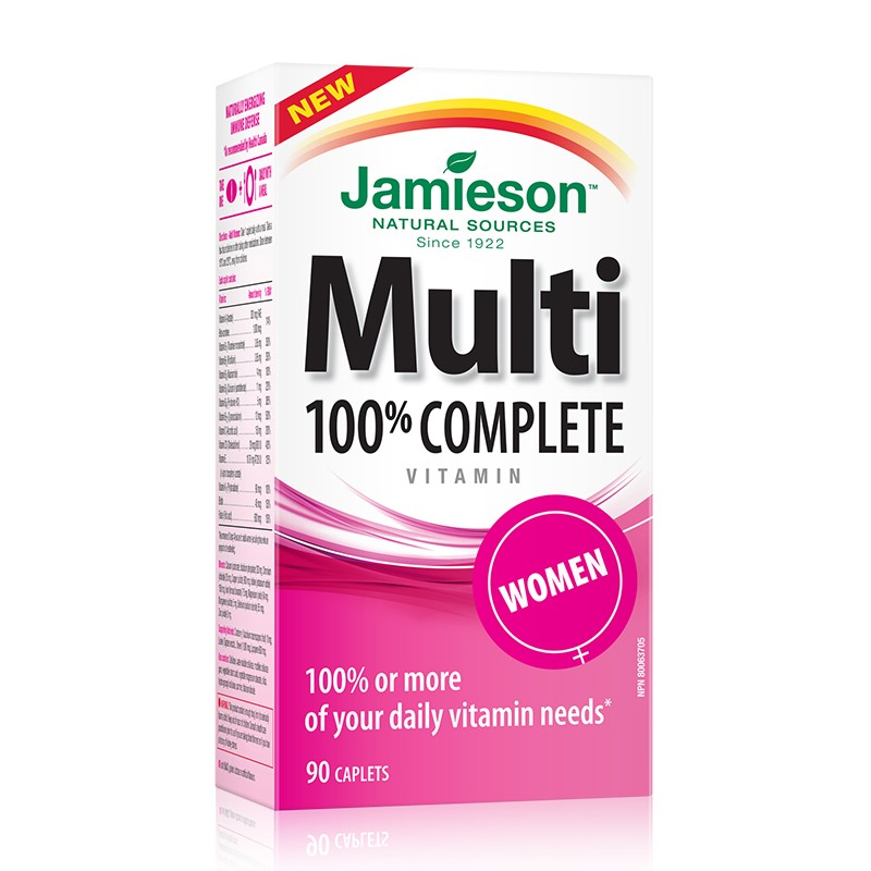 Multi 100% Complete for Women (90cps)