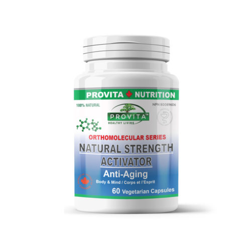 Natural Strength Activator Anti-Aging (60cps)