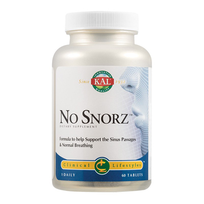 NO SNORZ  (60cps)